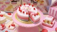 日本食玩 课余点心师粉红蛋糕小伶玩具小姐姐咖啡