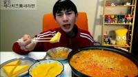 韩国吃播 大胃王奔驰小哥吃泡面