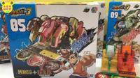 爆裂飞车3兽神合体沙暴流V熔岩爆夺晶变形玩具