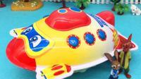 疯狂动物城玩潜水艇奇趣蛋