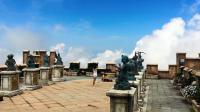 越南这座山, 被誉为东南亚天空之城, 一个伸手就能碰都到天的地方