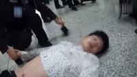 浙江杭州: 男子火车站晕倒, 多名医生旅客接力急救