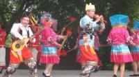 广西三月三歌圩, 壮族舞蹈表演, 嗨出欢乐的现场氛围, 有浓浓的少数民族的风情
