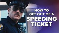 当你因为超速被警察拦下的时候, 如何机智的逃避罚单