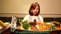 大胃王密子君: 今天来吃三文鱼, 这么多盘子了是刚吃完嘛