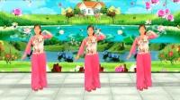 好听, 好看, 《三月桃花红》32步广场舞, 一看就会   玫香广场舞