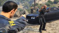 哟桑【gta5警察上班第185天】FBI案发现场(五)与坏警察们的战斗