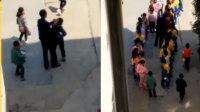 枣阳一老师掌掴6名小学生 已被行拘