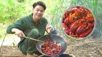 广东人有多爱吃小龙虾? 1锅下肚还不够!