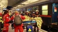 奥地利发生客运火车相撞事故 造成50多人受伤