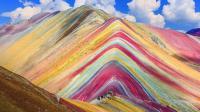 秘鲁彩虹山魔鬼一日游, 海拔5千米徒步7小时, 游客不惧高反络绎不绝