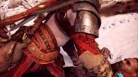 PS4 战神4 最终BOSS战 奎爷无愧于战神称号!