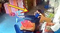 送货员进屋讨杯水喝, 老板赶紧招呼, 下一秒让人无语!