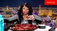吃蟹阿姨今天不吃螃蟹改吃六十个鸡翅   这真的能吃完吗