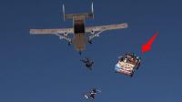 空中汽车不装降落伞,人坐在汽车从6千米高空落地,结果如何