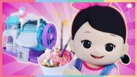 DIY好吃到停不下来的草莓冰淇淋 | 凯利和玩具朋友们 CarrieAndToys