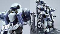 【评头论足】武装到牙齿! 万代MB ARX-7强弩 全金属狂潮 超合金成品模型