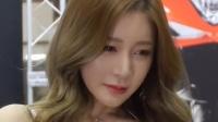 180413 2018 首尔摩托车展 韩国美女模特 车模 한지은(韩智恩)