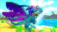 【虾米】方舟: 方块世界EP11, 优雅的精灵龙, 踏平沼泽遗迹