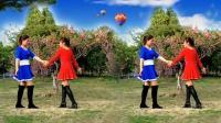 最近特别流行双人舞对跳 广场舞拉萨夜雨16步
