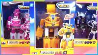 超级飞侠变形机器人套装多多工程车 机器人模式