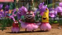 爆笑虫子: 虫虫在蜜蜂的追杀中, 跳起了妖艳的康康舞!
