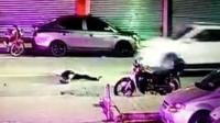 男子醉酒倒在街头 片刻后惨遭SUV碾压身亡