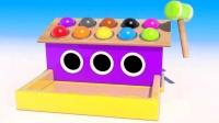 汉堡早餐游戏屋敲击游戏玩具英语快乐英语儿童英语ABC