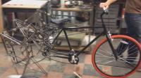 最奇葩自行车问世! 全球仅此一辆, 美国一小伙子耗时七个月打造, 天才!