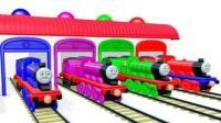 托马斯小火车玩具 熊出没熊大熊二赛车总动员