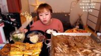 韩国吃播 二倍速 大胃王新姐吃肉 热腾腾的最好吃