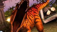 侏罗纪世界恐龙: 霸王龙大战异特龙、玛君龙  恐龙乐园