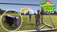 踢球的超级熊孩子※我的夏季汽车※芬兰模拟器 Ep.75