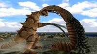 奥特曼格斗进化3游戏 小鞭子要抱双尾蛋 可它死活不让抱