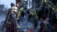PS4  战神4 奎爷大战北欧女武神瓦尔基里女王! 混沌链刃霸气无双啊
