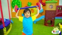 瑞恩你可以做到锻炼身体的儿童歌曲