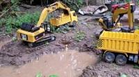 挖掘机挖沟清理河道防止发洪水 挖掘机工地挖土装沙 挖土机河边挖沙