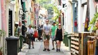 慢行新加坡城市小风情: 鱼尾狮、哈吉巷、阿拉伯社区