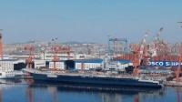 首艘国产航母今日离开泊位 或命名为山东舰
