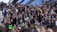 【猴姆独家】缅怀Avicii!斯德哥尔摩数千名歌迷举行dance party全场