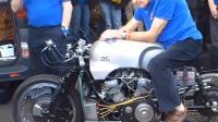 世界最伟大的摩托车之一! 50年代8缸发动机