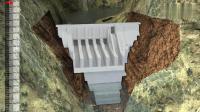 水电站的大坝是如何建立起来的? 一个动画让你秒懂