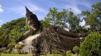 老挝万象佛像公园, 佛像也可以那么奔放的