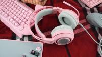 萌系猫耳耳机, 硕美科G951 PINK开箱视频