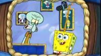 《海绵宝宝》看见章鱼哥上电视, 蟹老板立马开始打广告! 太势力了