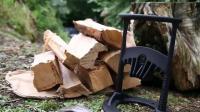 13岁女孩发明人工智能劈柴神器, 2天狂接20万的订单, 太厉害了!