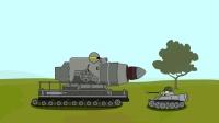 坦克世界动画, 超大口径火炮vs重型虎式坦克