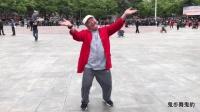 大爷广场跳魔性拍灰舞 太可爱了简直就是老顽童 一看就会你们学会了么?