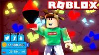 小格解说 Roblox挖矿模拟器: 获取超级核弹! 黄金矿工穿越我的世界! 乐高小游戏