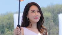 180421 2018 CJ 超级赛 韩国美女模特 车模 은하영(殷夏映(殷夏英)